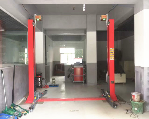 Wheel Alignment Installation Process