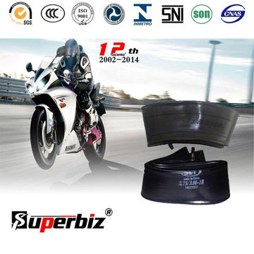 3.00-18 Motorcycle Inner Tube (Natural&butyl)
