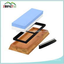 400/1000 1000/3000 1000/4000 1000 6000 kitchen knife sharpening stone whetstone with holder