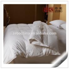 Súper suave y cómodo pato abajo de lujo de lujo de edredón blanco