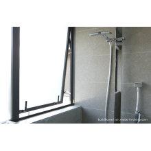 Salle de bain Haute qualité Meilleur prix en verre givré Fenêtres en aluminium