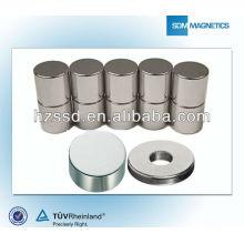 Imanes industriales de gran calidad en formas personalizadas, tamaños de N35-N38AH grado