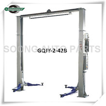 2-post Gantry Lift Gqjy-2-42b [iso;ce] Car Lift 4000kg Clear Floor 2 Post Auto/car Lift Double Safety Locks