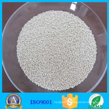 Absorbent zeolite 4a molecular sieve for natural gas drying