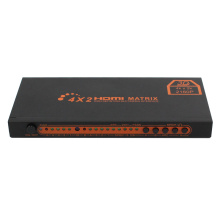 4x2 HDMI Matrix Switch SPDIF 3.5mm Output