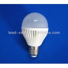 E27 smd led rond en plastique lampe abat-jour