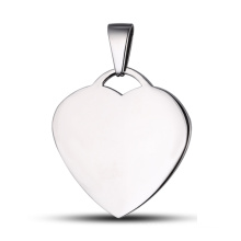 Heart Tag Custom Tag Heart Pendant Necklace