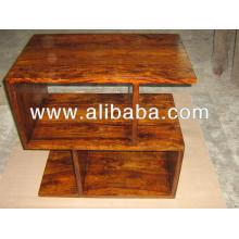 Gabinetes de madera de la sala de estar