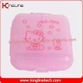 Latest Design Plastic 6-Cases Pill Box (KL-9070)