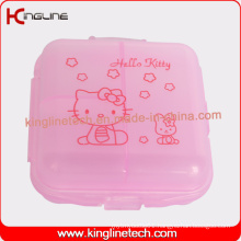 Latest Design Plastic 6-Cases Pill Box (KL-9070)