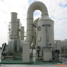 Fiberglass FRP ACID FUME Absorption Scrubber Tower SO2 Absorption Tower