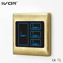 4 Gangs Lighting Touch Switch (SK-T2000L4)