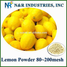 Dried or Dry Lemon Powder 80mesh to 200mesh without adding dextrine