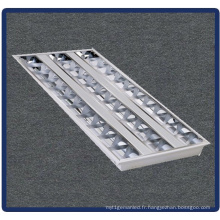 Support de tube, lampe encastrée de gril 4X14W / T5 / 600 * 600