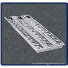 Tube Bracket, Recessed Mounted Grille Lamp 4X14W/T5/600*600