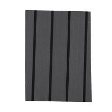 synthetic faux teak black solid color stripe dark grey decking sheet boat  flooring carpet accessories for boat flooring