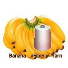 Fibra de plátano fibra funcional fibra de banano hilado