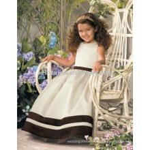 Sash Niza, lindo diseño único vestido de niña de flores