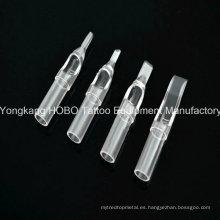 Planta desechables baratos tatuaje plástico equipo tatuaje corto desechables consejos Hb703-3