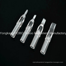 Plant Outlet Cheap Plastic Tattoo Equipment Tattoo Short Disposable Tips Hb703-3