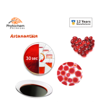 Supplier 100% Pure Natural Healthcare Supplements Water Soluble CWS  Haematococcus Pluvialis 5% Astaxanthin Extract Powder