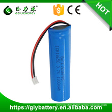 Geilenergy 3.7v 1300mah li-ion rechargeable battery 18650 li-ion battery