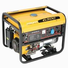Générateur de soudure d'essence du moteur 5kw de Honda de certificat de la CE (WH6500E-W)