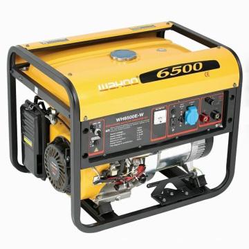 Certificado CE Honda Engine 5kw Gasoline Welding Generator (WH6500E-W)