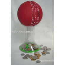 piggy bank---Cricket ball