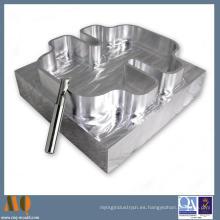 Piezas que trabajan a máquina del CNC de aluminio