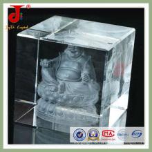 Crystal Cube für das Logo der Firma Inner Laser Company