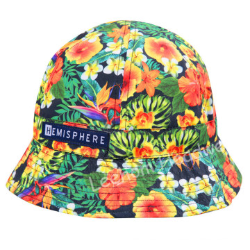 (LB15031) Fahison Print Bucket Hat for Girl