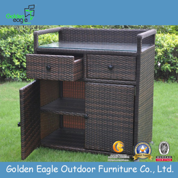 Outdoor Furniture Rattan Trolley