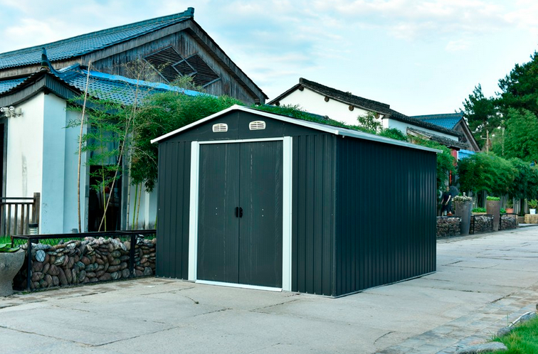 Bicycle Metal Shed