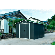 Colorido 8 X 8 Medium Apex Metal Shed