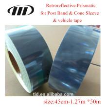 Mikroprismatische reflektierende Folie