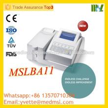 MSLBA11 Factory Price Semiautomatic biochemistry analyzer made in China