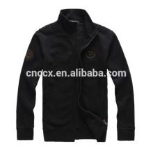 15PKH09 2015 new 80/20 winter thick CVC fleece cardigan zip-up blank hoodies