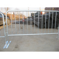 High Quality Detachable Leg Metal Crowd Control Barriers (factory ISO 9001 certificate)