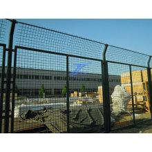 Забор металлический каркас фабрика с квадратный столб (TS-L24)