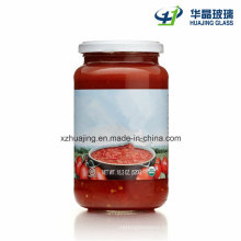 Ketchen Use 18...Oz 520g Empty Glass Diced Tomatoes Jar