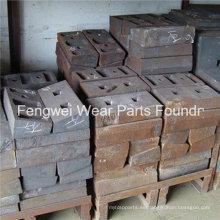 Piezas de recambio para molinos de cemento