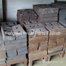Cement Mill Spares Liners Ball Mill Parts Liners Plate