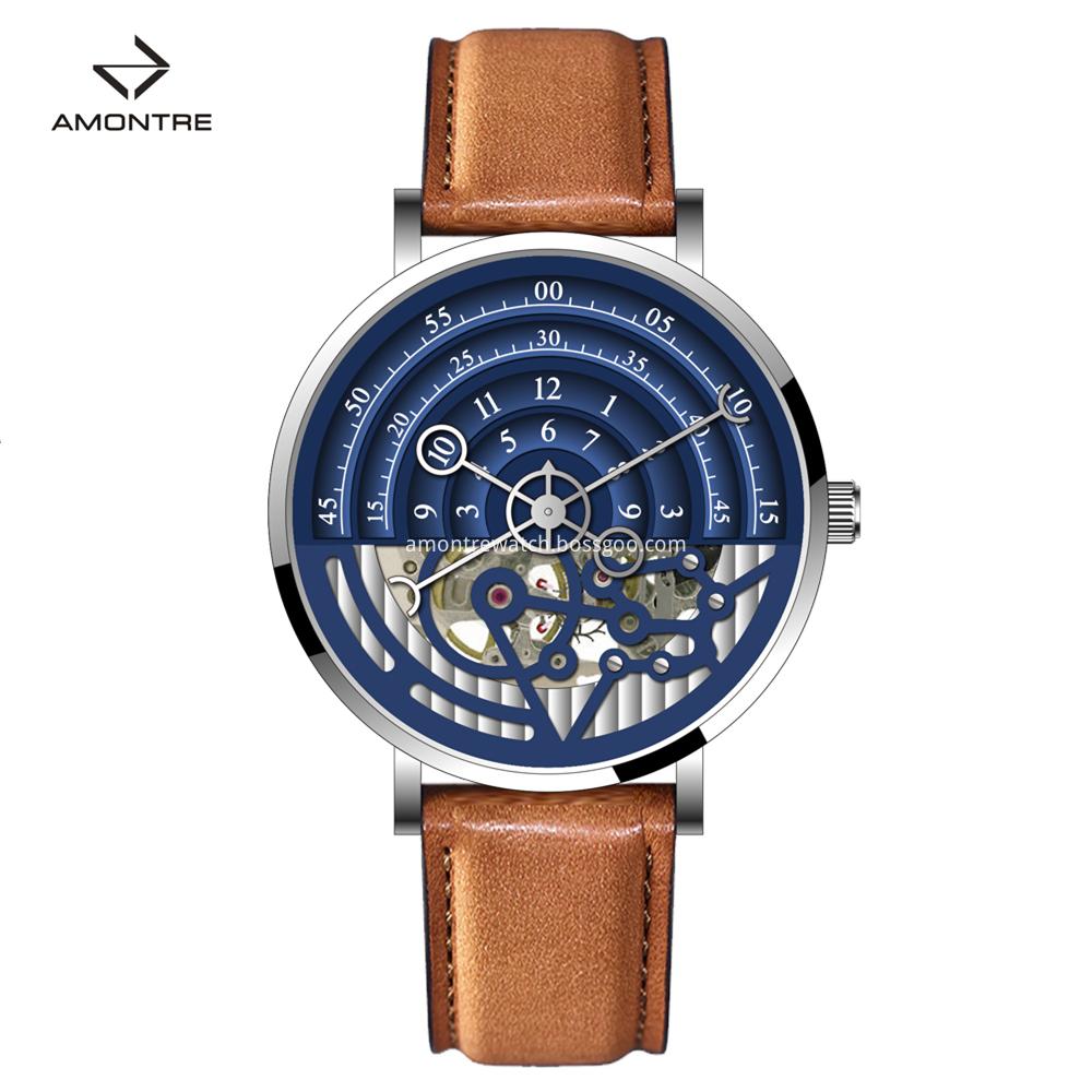 Skeleten Mechenical Watch