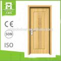 2018 hot sale wood grain surface interior door for bedroom