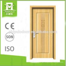 Posición interior Tablero de MDF Panel Hoja Columpio Apertura Puerta de madera de melamina