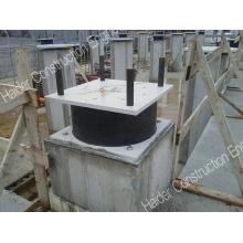 Sistema de isolação de base, rolamento de isolamento de base