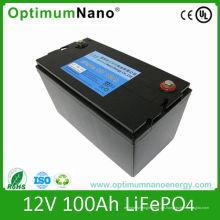 Tiefe Zyklus Lipo Batterie 12V 100ah für Golf Cart und Caravan