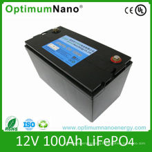 Deep Cycle Lipo Battery 12V 100ah for Golf Cart and Caravan