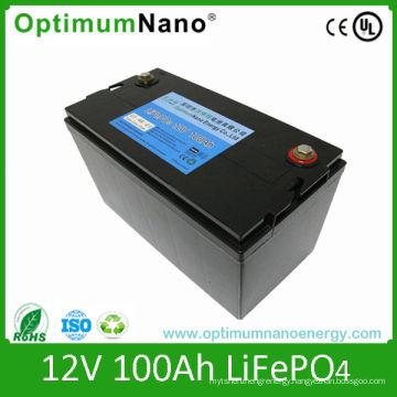 Deep Cycle Lipo Battery 12V 100ah for Golf Cart and Caravan